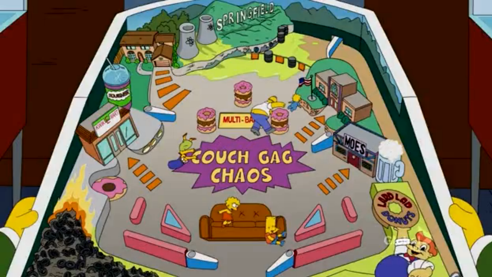 Couch Gag Chaos couch gag