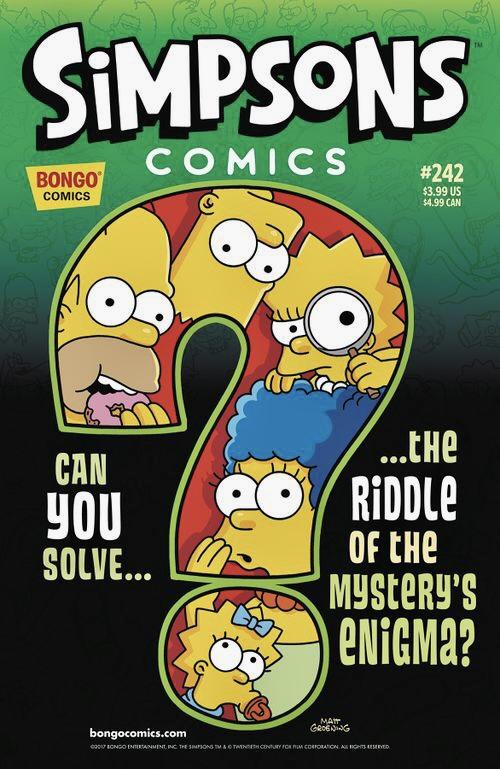 Simpsons Comics 242
