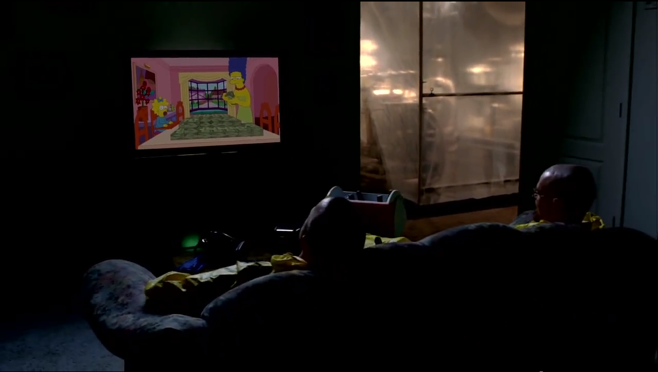 Breaking Bad couch gag