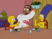 HomerAndNed'sHailMaryPass-LeBronStealsTheSalad