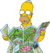 Homer Looking at Map (Artwork).png