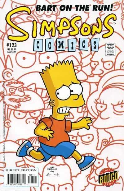 Simpsons Comics 123