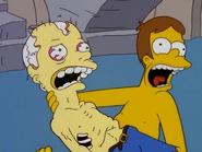 Waylon Smithers Sr. and Homer