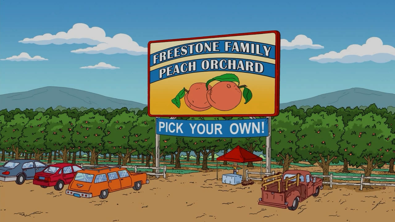 Freestone Family Peach Orchard