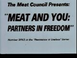 Meat and You: Partners in Freedom