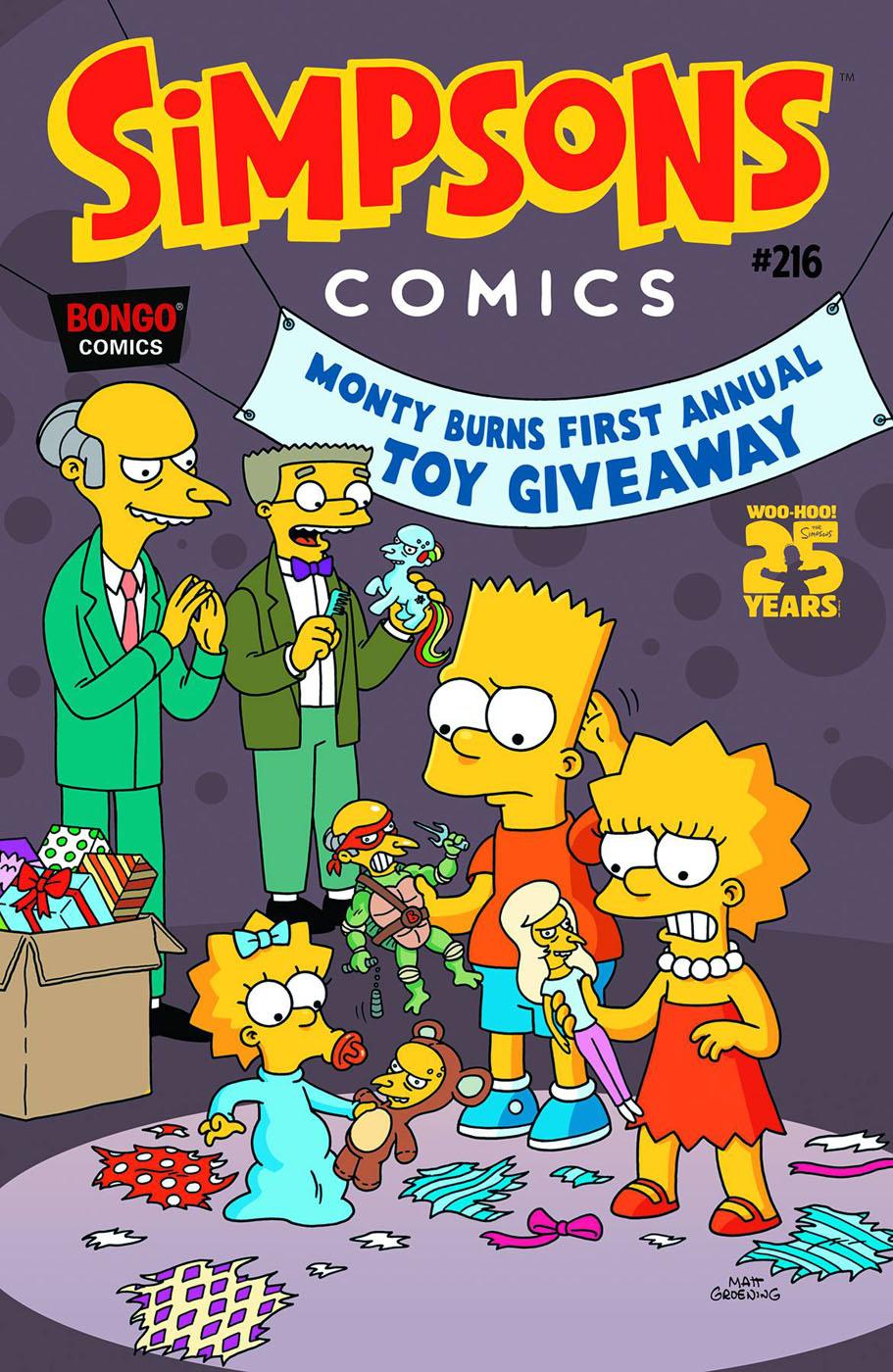 Simpsons Comics 216