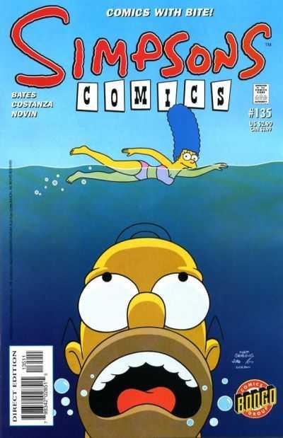 Simpsons Comics 135