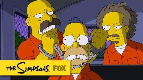 "Homer's Daring Escape from ""Steal This Episode"" THE SIMPSONS ANIMATION on FOX"