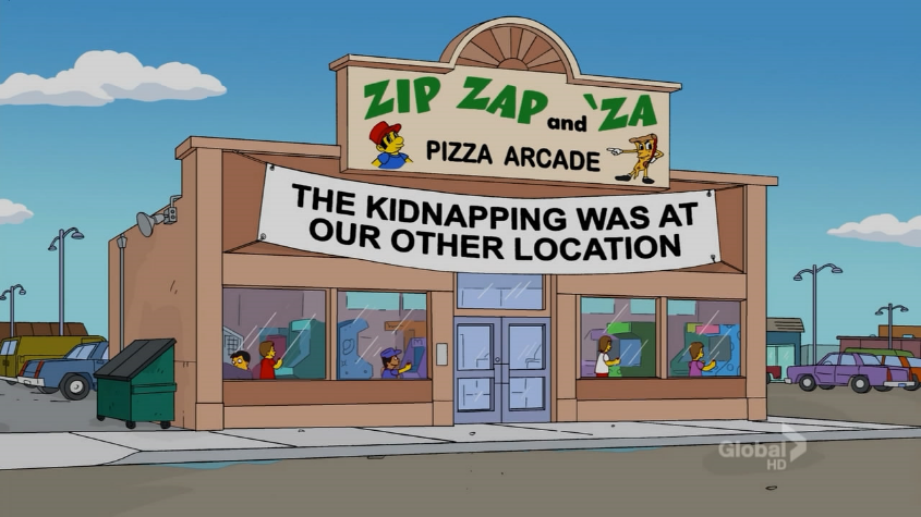 Zip Zap and 'Za Pizza Arcade