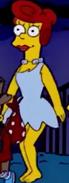 Marge as Wilma Flintstone