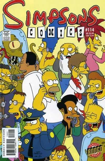 Simpsons Comics 114