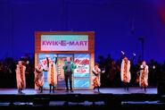 The simpsons take the bowl- kwiki mart