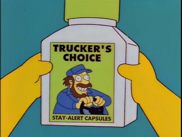 Trucker's Choice Stay-Alert Capsules