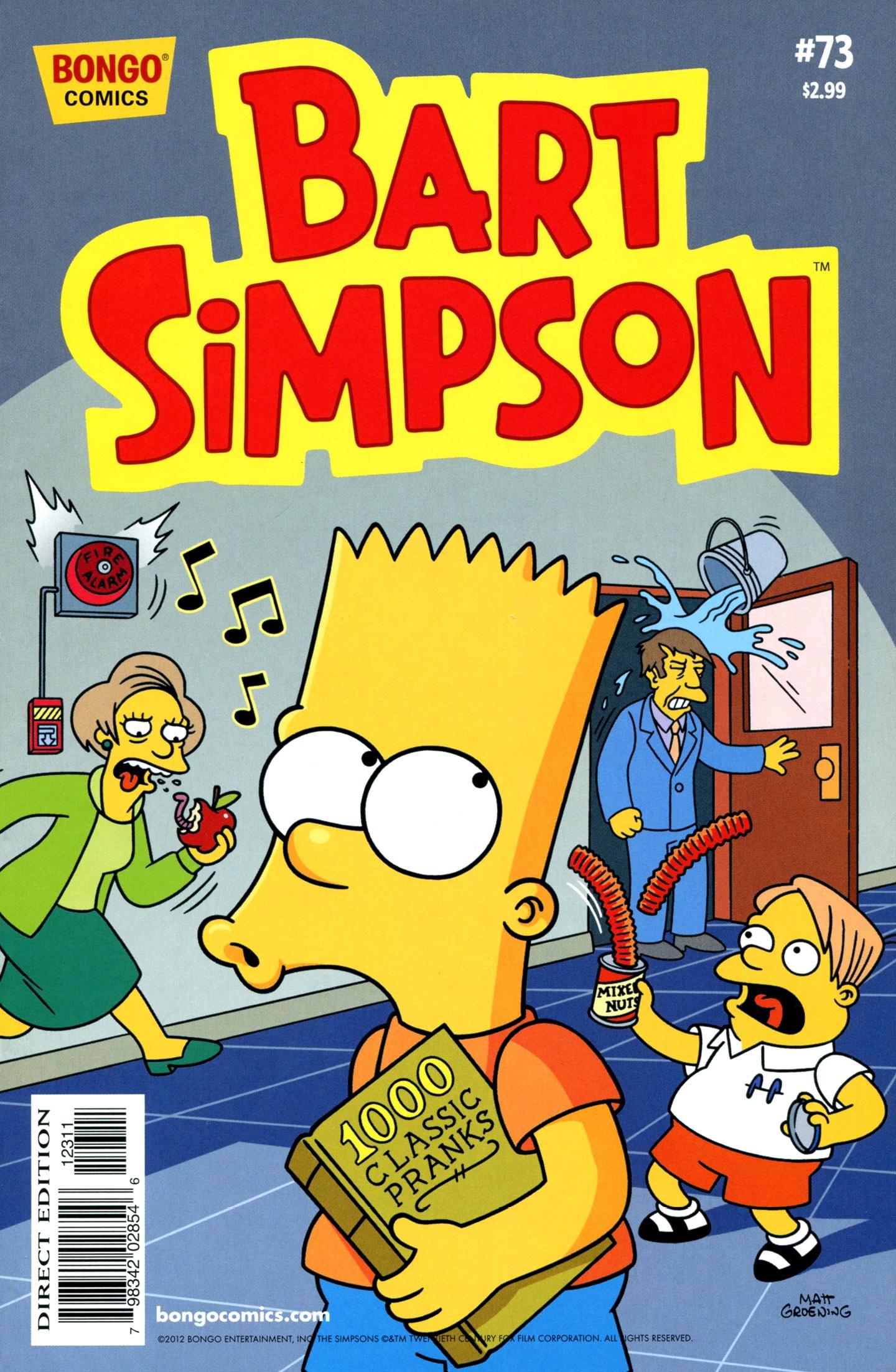 Bart Simpson Comics 73