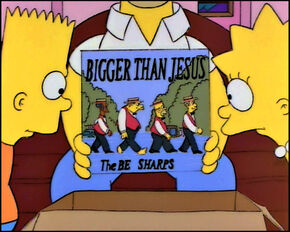 Album The-Be-Sharps--The-Simpsons--Bigger-Then-Jesus.jpg