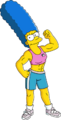 Muscular Marge Tapped Out