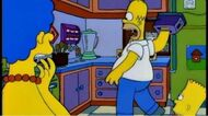 The Simpsons - Hand In Toaster