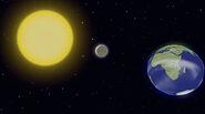 Луна с атмосферой