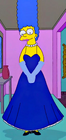 Marge prom dress