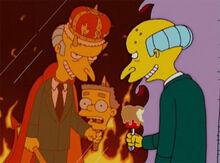 Burns espelho infernal