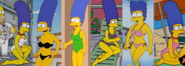 Marge's swimsuit collection