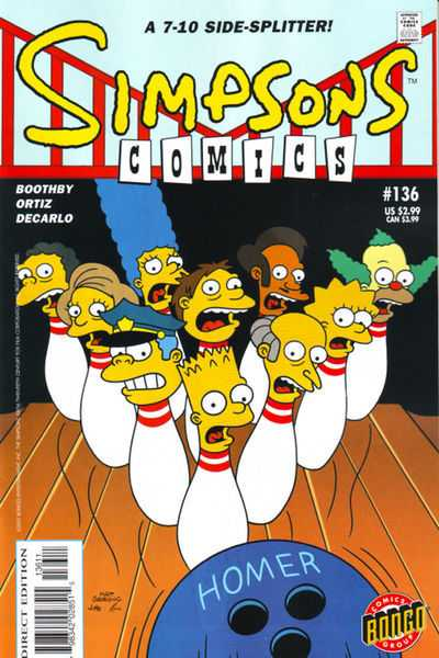 Simpsons Comics 136