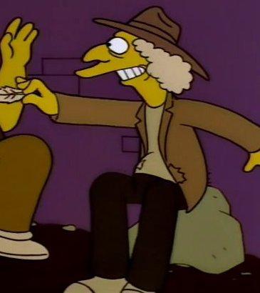 Hobo 2 (Homer and Apu)