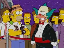 Homer paparazzi krusty bravo