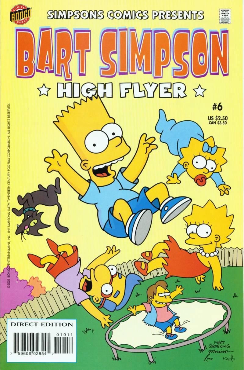 Bart Simpson Comics 6