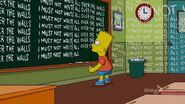 MoneyBART Chalkboard Gag