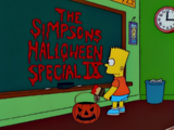 Treehouse of Horror IX - Chalkboard Gag