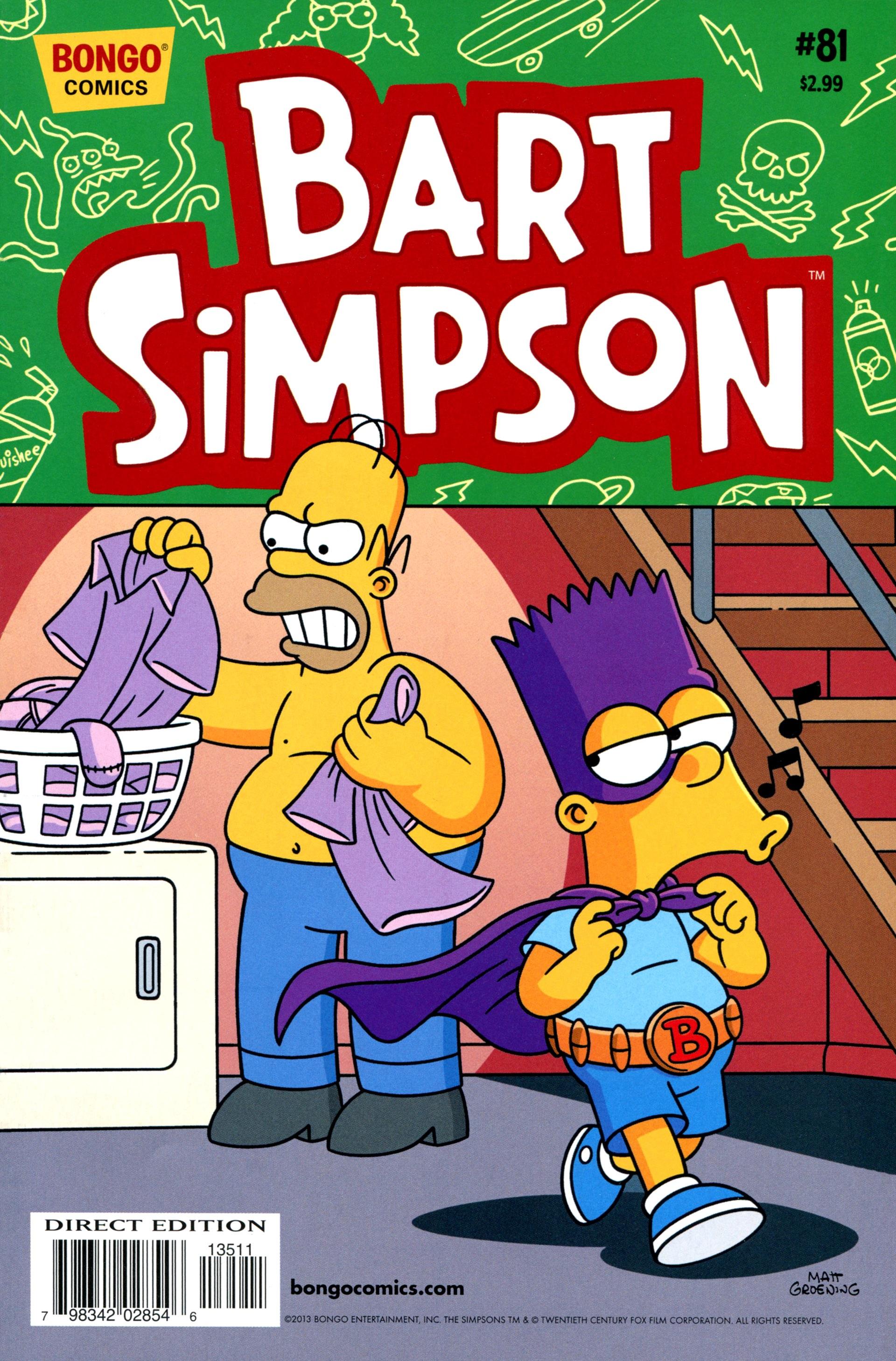 Bart Simpson Comics 81