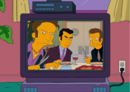 Legs, Johnny Tightlips, and Frankie the Squealer Glaring at Dan Gillick