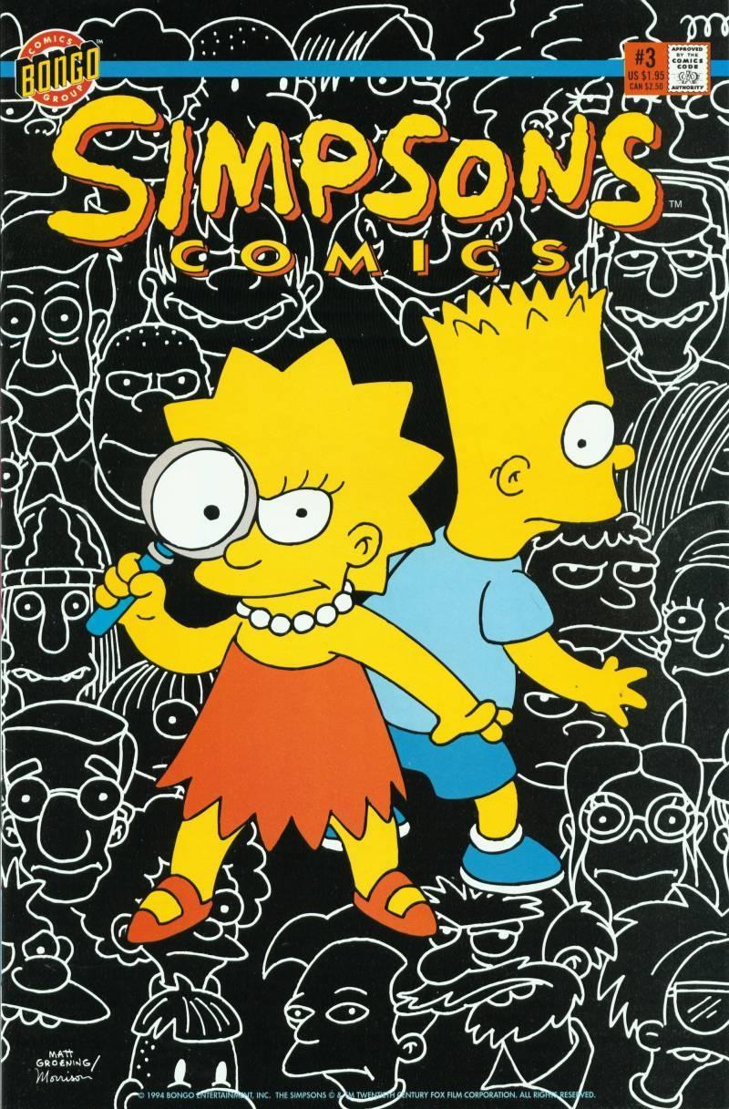 Simpsons Comics 3