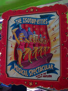 The Simpsons Ride The Isotop-ettes Musical Spectacular Poster