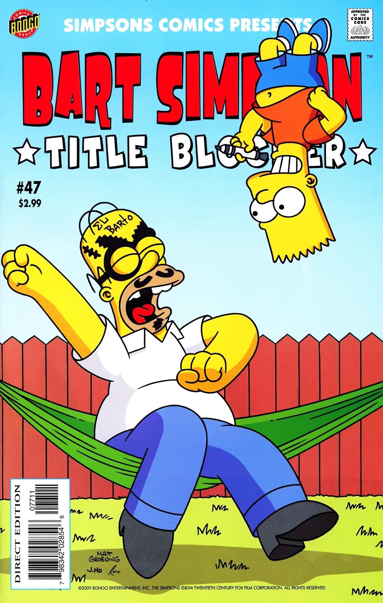 Bart Simpson Comics 47