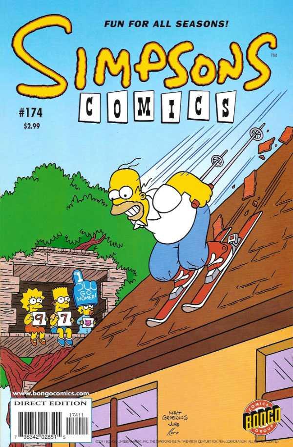 Simpsons Comics 174