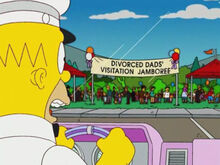 Homer sorveteiro pais divorciados