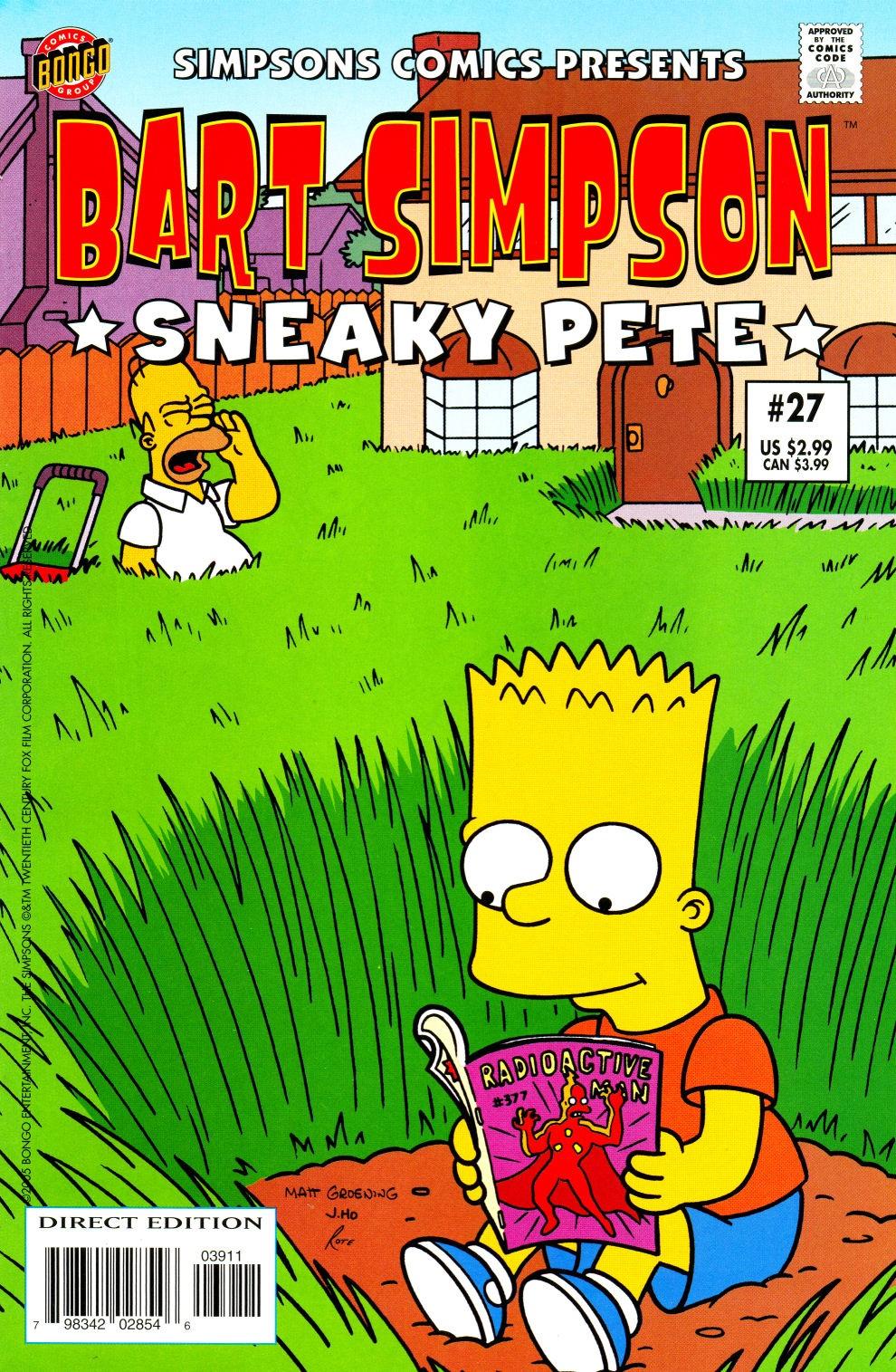 Bart Simpson Comics 27
