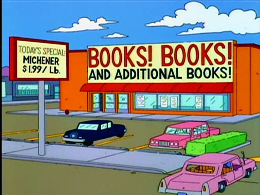 Books! Books! and Additional Books!