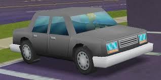 Sedan (The Simpsons: Hit and Run)