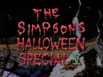 Simpson Horror Show V