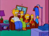 Inverted Hair couch gag