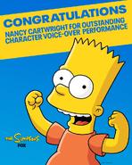 Nominacja do Emmy Nancy Cartwright 2020