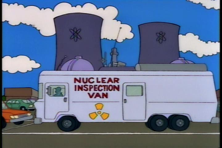 Nuclear Inspection Van