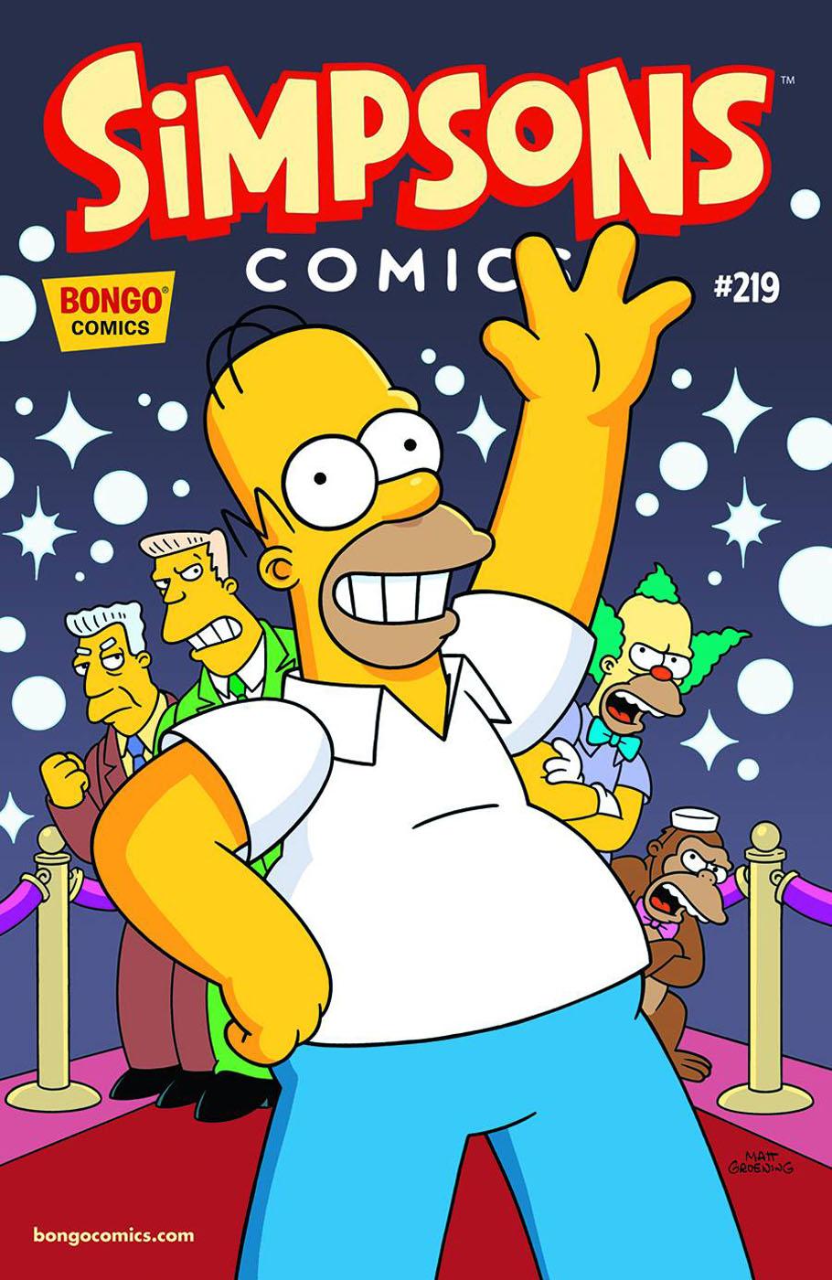 Simpsons Comics 219
