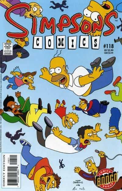 Simpsons Comics 118