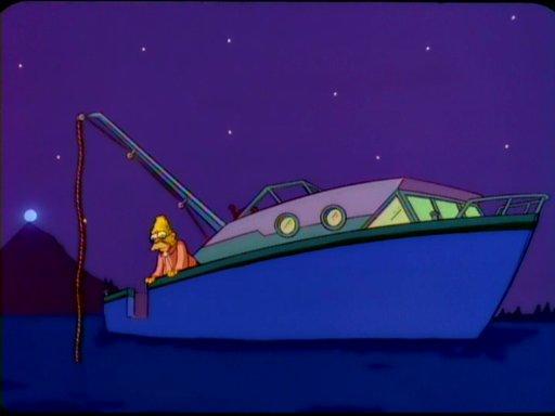 Flanders' speedboat