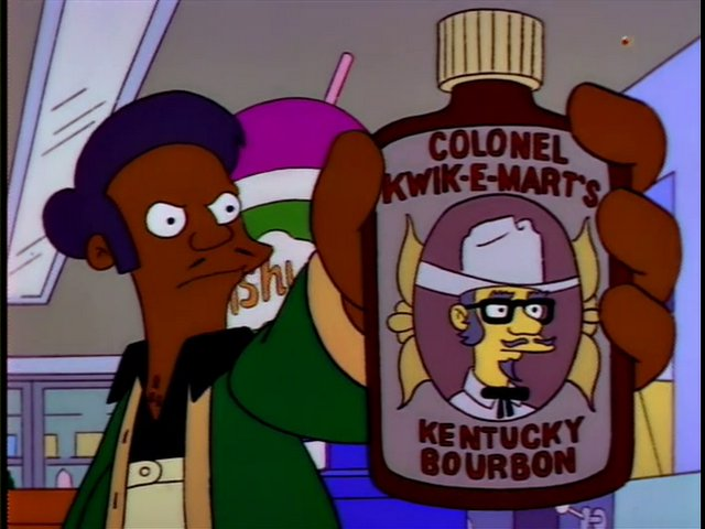 Colonel Kwik-E-Mart's Kentucky Bourbon