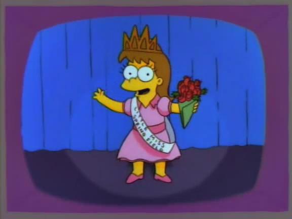 """Little Miss Springfield"" girl"